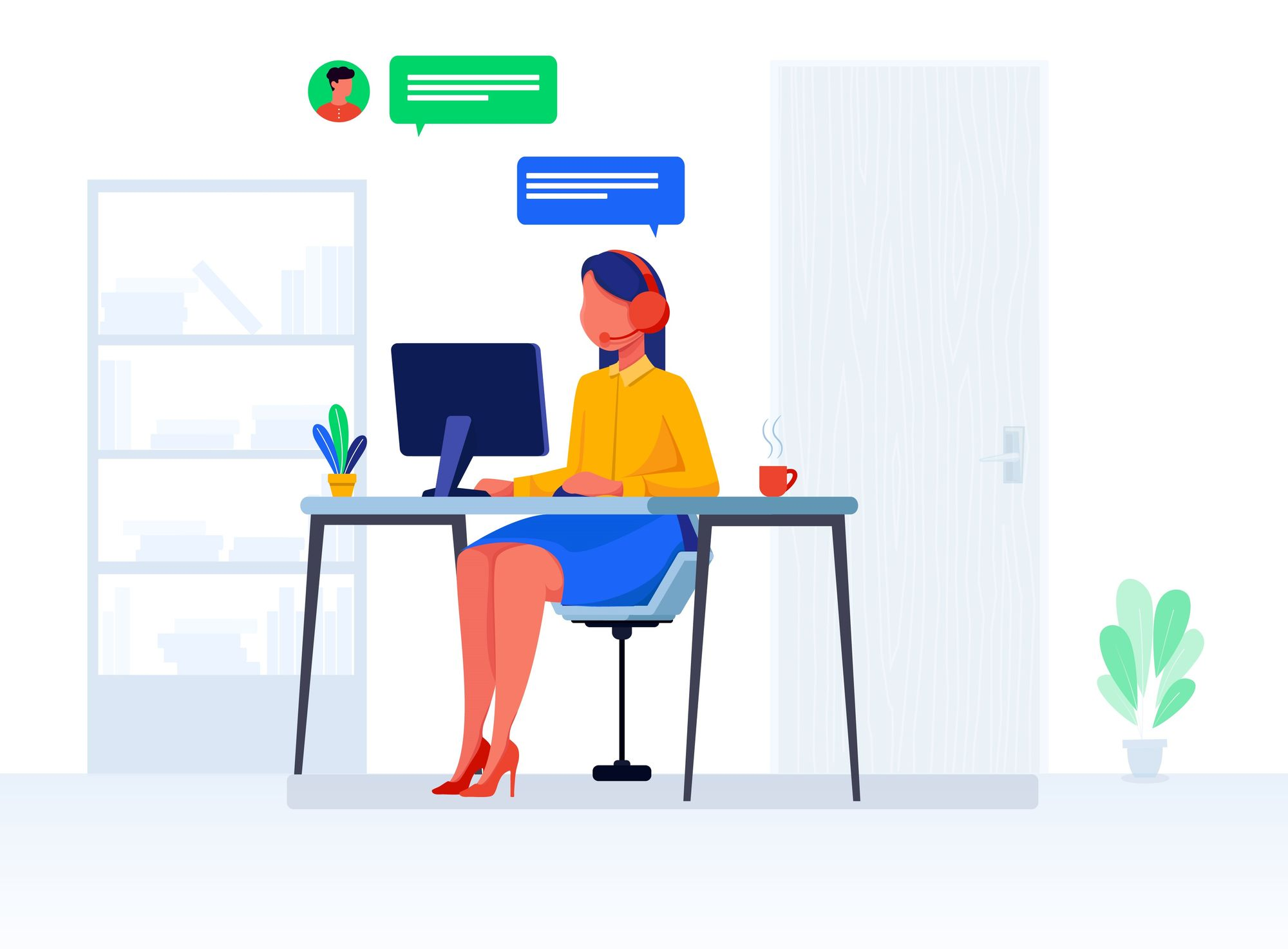 customer support customer care whatsapp chatbot